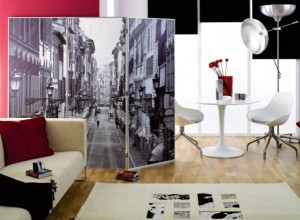 Photo wall partition