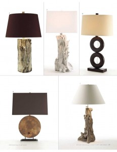 earthy lamps arteriors home