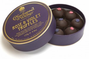 charbonnel et walker english rose and violet truffles